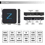 2.4G/5G Wifi Zenopllige Z11 PRO Android TV BOX 2G/16G Bluetooth 4.0 4K HD Android 6.0 Amlogic905X Quad Core TV Box Smart TV BOX
