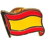 Desconocido Pin de Solapa Bandera España Española Metal con Esmalte Tamaño Pequeño