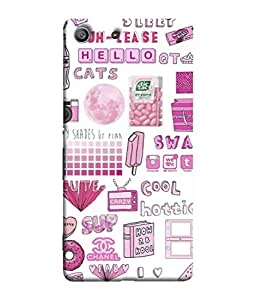 FUSON Designer Back Case Cover for Sony Xperia Z3 Compact :: Sony Xperia Z3 Mini (Kids World Hot Summer Chilled Winter)