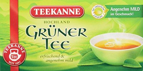 Teekanne Grüner Tee 20 Beutel, 6er Pack (6 x 35 g Packung) (Grüner Tee)