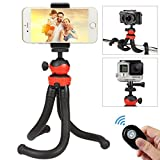 Best Tripod Mount For Galaxy Note 3s - Tripod for Smartphone, QHUI Phone Tripod Stand Mount Review