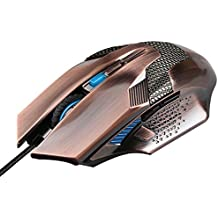 Ratón para gaming TeckNet Raptor M268 - Ratón para gaming de alta precisión (6 botones, 2000 dpi)