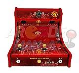 Arcade Machines - Manchester UTD - 2 jugadores Arcade Bartop Machine - 815 JUEGOS EN 1