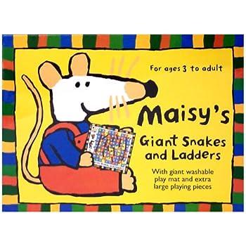 Maisy's Giant Snakes & Ladders