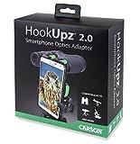 Carson Hookupz 2.0 – Smartphone Optik-Adapter für vielseitige Einsatzmöglichkeiten schwarz/grün
