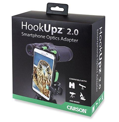 HOOKUPZTM 2.0 Adaptador Universal de Smartphones a Lentes ópticos (IS-200) de Carson