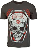 Amplified Herren Bullet For My Valentine Coffin T Shirt Holzkohle