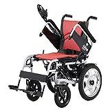 T-Rollstühle Manueller Elektrischer Rollstuhl, behinderter vierrollstuhl, Rollstuhl, Elektrischer Roller, Helles Falten für die älteren Personen.