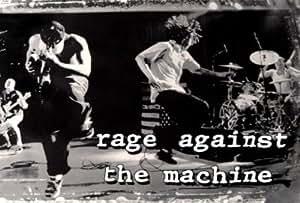 Affiches en tissu 'Rage Against the Machine', Taille: 107 x 72 cm