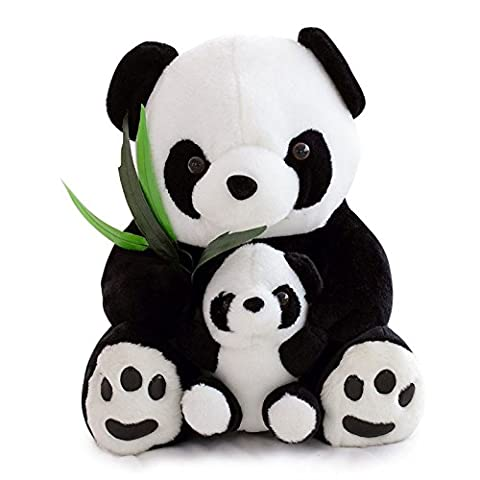 Panda Teddy Bear Soft Large Plush Cuddly Toy Cosy Lying Enormous Handmade Large Teddy Bear Soft Toy Plush Cuddly Cosy Huge Stuffed Plush Enormous Giant Size: ( H ) 60cm x ( W ) 46cm x ( L ) 40cm ✔PAULINE THE PANDA✔FREE & FAST POSTAGE✔TRUSTED UK SELLER✔