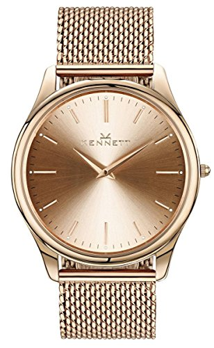 Mens Kennett Kensington Rose Gold Milanese Watch KRGRGMIL
