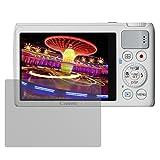 dipos I 6X Schutzfolie matt passend für Canon Powershot S200 Folie Displayschutzfolie