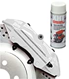 White Extremely High Temperature Spray Paint Brake Caliper Engine Block 650'C