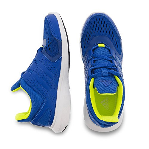 adidas Hyperfast 2.0 K, Scarpe da Corsa Bambino Blue / Lime