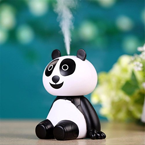 Mini panda USB Essential Oil Diffuser Aroma Essential Oil Cool Mist Humidifier