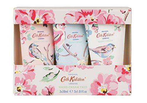 Cath Kidston Assorted Blossom Birds Hand Cream Trio, 3 x 30ml-FG5409 (2017-02-21)