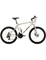 KS Cycling Fahrrad Mountainbike Vollgefedert Insomnia RH 50 cm, Weiß, 26, 101B