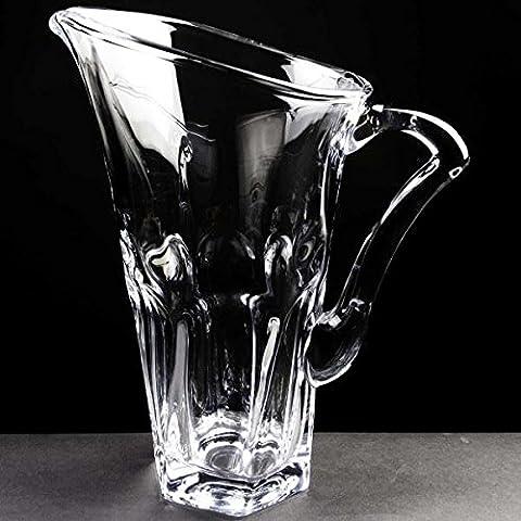 Apollo cristallo caraffa in vetro soffiato, con incisione personalizzata targa Trofeo anniversario regalo
