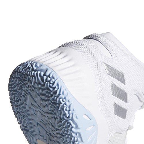 adidas Herren Explosive Bounce Basketballschuhe weiß (Ftwbla/Plamet/Grpulg 000)