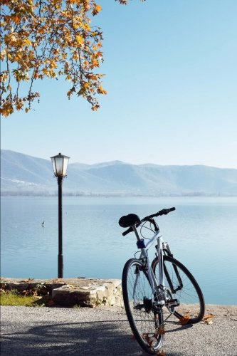 bicycle-by-the-bank-of-lake-orestiada-kastoria-greece-journal-150-page-lined-notebook-diary