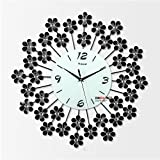 PinWei_ Fotografia moderna silenziato orologi da parete Art Déco