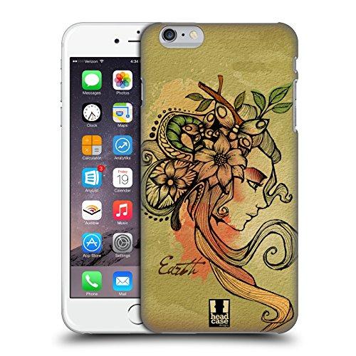 Head Case Designs Vento Elementi Cover Retro Rigida per Apple iPhone 7 Plus / 8 Plus Terra