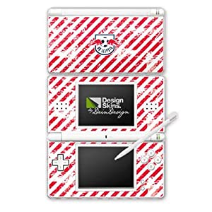 DeinDesign Skin kompatibel mit Nintendo DS Lite Folie Sticker RB Leipzig Offizielles Lizenzprodukt Logo