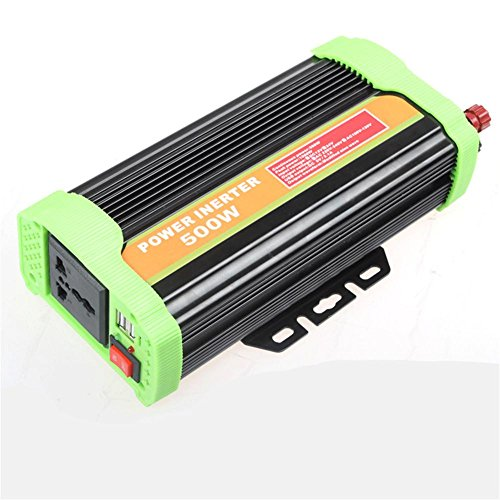 BQ Convertisseur @ Car Power Inverter Haute qualité 500W Inverseur solaire 12v 24v tourne 220V inverseur fusible externe , 24v-220v