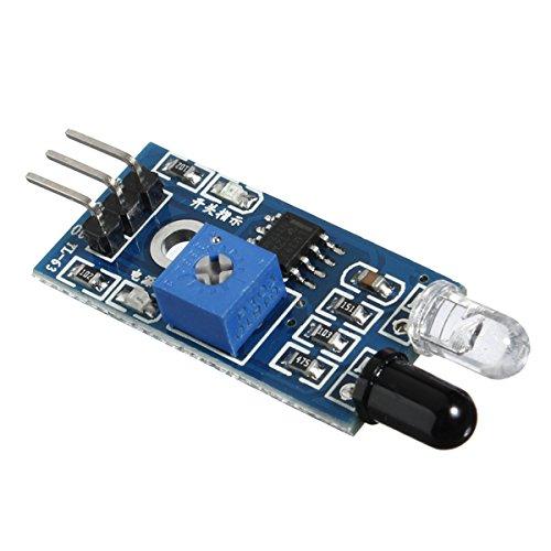 Preisvergleich Produktbild Bluelover St-Infrarot-Hindernis-Vermeidung Sensor Für Arduino Smart Car Robot