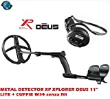 "XP Xplorer Deus 11 ""Lite + Metal Detector Headphones WS4 Wireless"