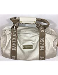 Sac polochon David Jones CM0045 - coloris silver