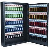 Pavo 8047222 - Caja para llaves de alta seguridad (capacidad para hasta 100 unidades) gris