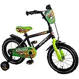 14 Zoll Kinderfahrrad Kinder Jungen Fahrrad Bike Rad Jungenfahrrad Kinderrrad VOLARE EXTREME SCHWARZ