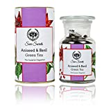 #9: Seer Secrets Aniseed & Basil Green Tea│The Superior Digestive │Blooming Tea (50 GM