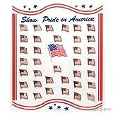 AlxShop-AlxShop-Tortenständer mit Usa Flagge Fahne, 30 Stück