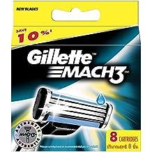 Ancienne version Gillette  MACH3 - Pack de 8 recharges