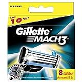 Gillette MACH3 Rasierklingen, 8Stück