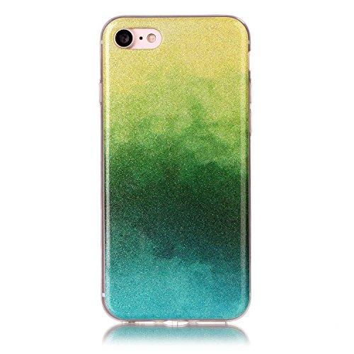 JIALUN-Telefon Fall IPhone 7 Fall, Farbverlaufsmuster Ultradünne TPU Rückseitige Abdeckung Weicher Fall Für Apple IPhone 7 ( Color : F , Size : IPhone7 ) G