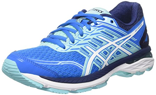 ASICS GT-2000 5, Scarpe Running Donna, Multicolore (Diva Blue/White/Aqua Splash), 39.5 EU