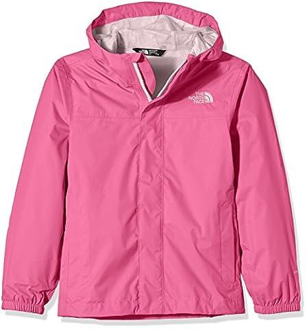 The North Face Mädchen Regenmantel G Zipline Rain Jacket, Cha Cha Pink, XL, 0732075457013