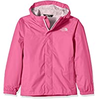 The North Face Regenmantel G Zipline Rain Jacket Chaqueta Impermeable, niña, Rosa Cha Pink, XL