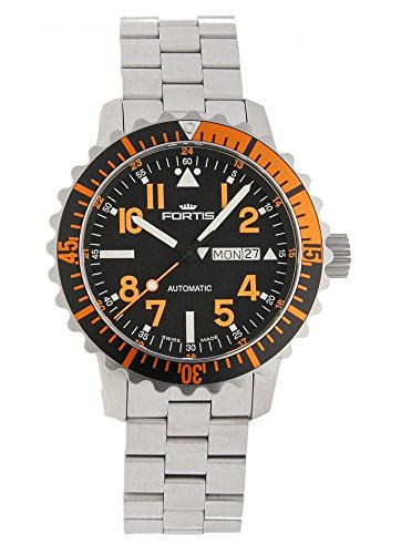 Fortis Aquatis Marinemaster Day/Date Orange 670.19.49 M