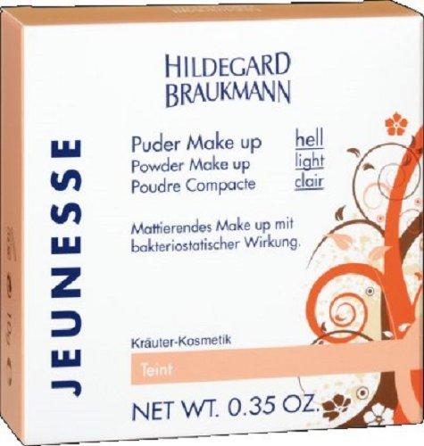 Hildegard Braukmann Jeunesse Puder Make up hell 10 g, Powder Make Up Light 0,35 OZ