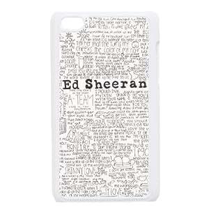 iPod Touch 4 Case White Ed Sheeran jh
