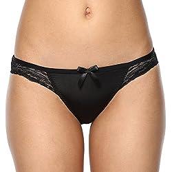PrettySecrets Womens Bikini (102234_Black_S)