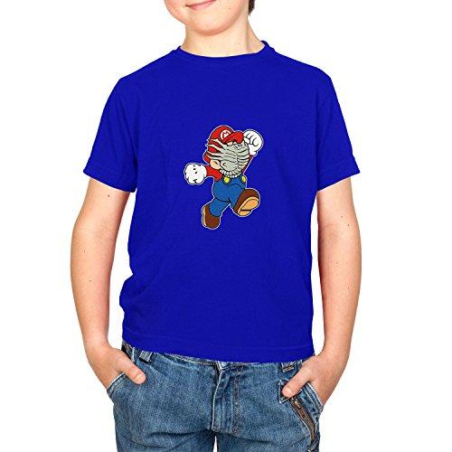 NERDO Mario Face Hug - Kinder T-Shirt, Größe -