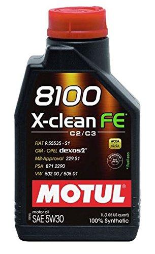 Motul–x Clean FE 5W30vollsynthetisches motorenöl 1liter pas cher