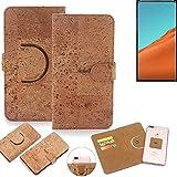 K-S-Trade® 360° Cover Cork Case For Nubia X | Smartphone