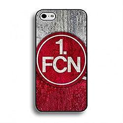 Bundesliga 1. FC Köln Hülle Tasche Etui für iPhone 6/6S,iPhone 6/6S 1. FC Köln Logo Telefon-Kasten Fußballverein 1.FCN Hülle Handy Silikon