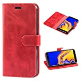 Mulbess Galaxy J4 Plus Case, Samsung J4+ Leather Case,